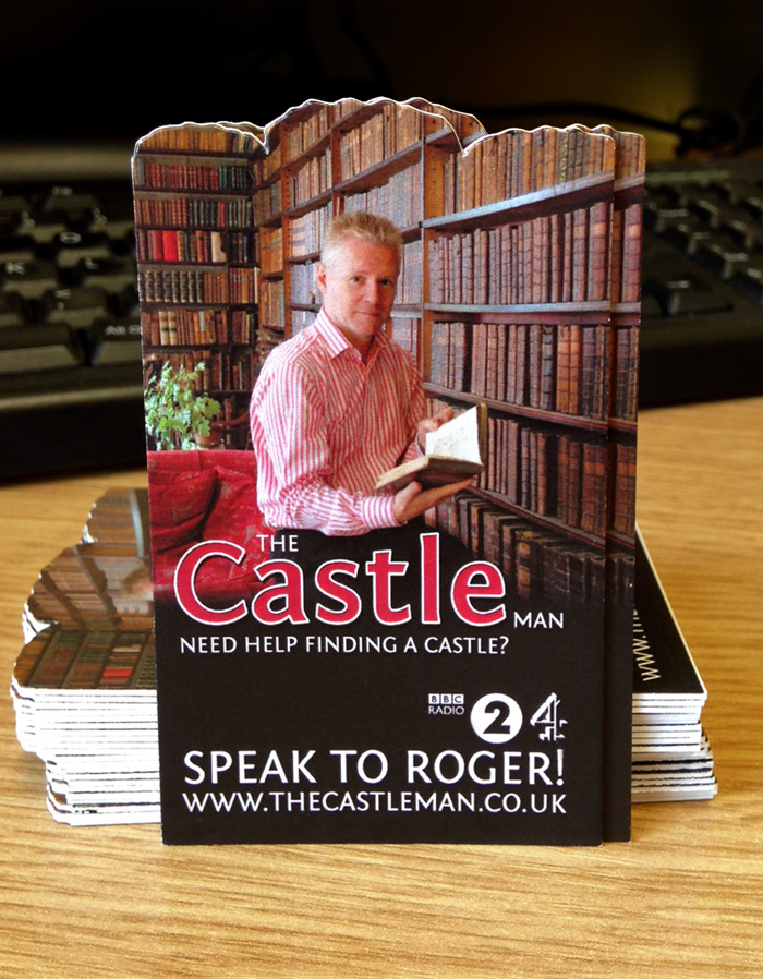 Castle Man Business Card