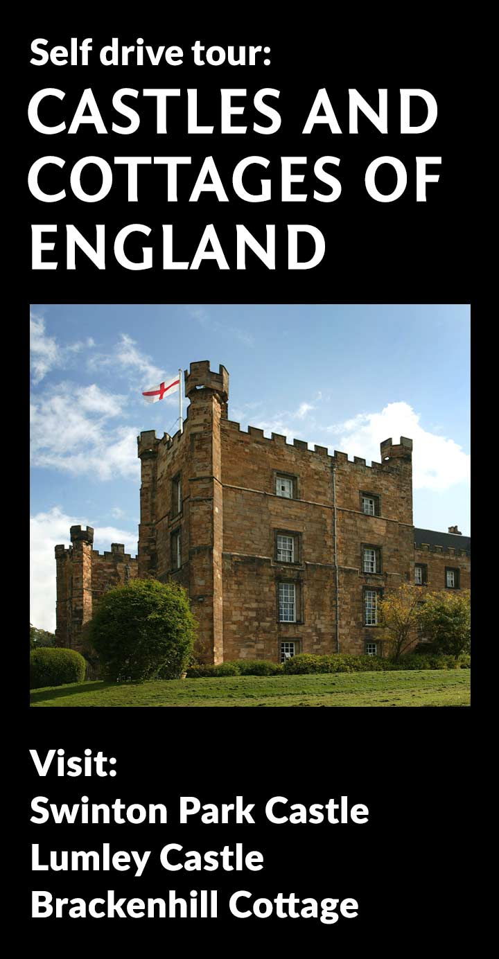 Castles and Cottages of England Tour