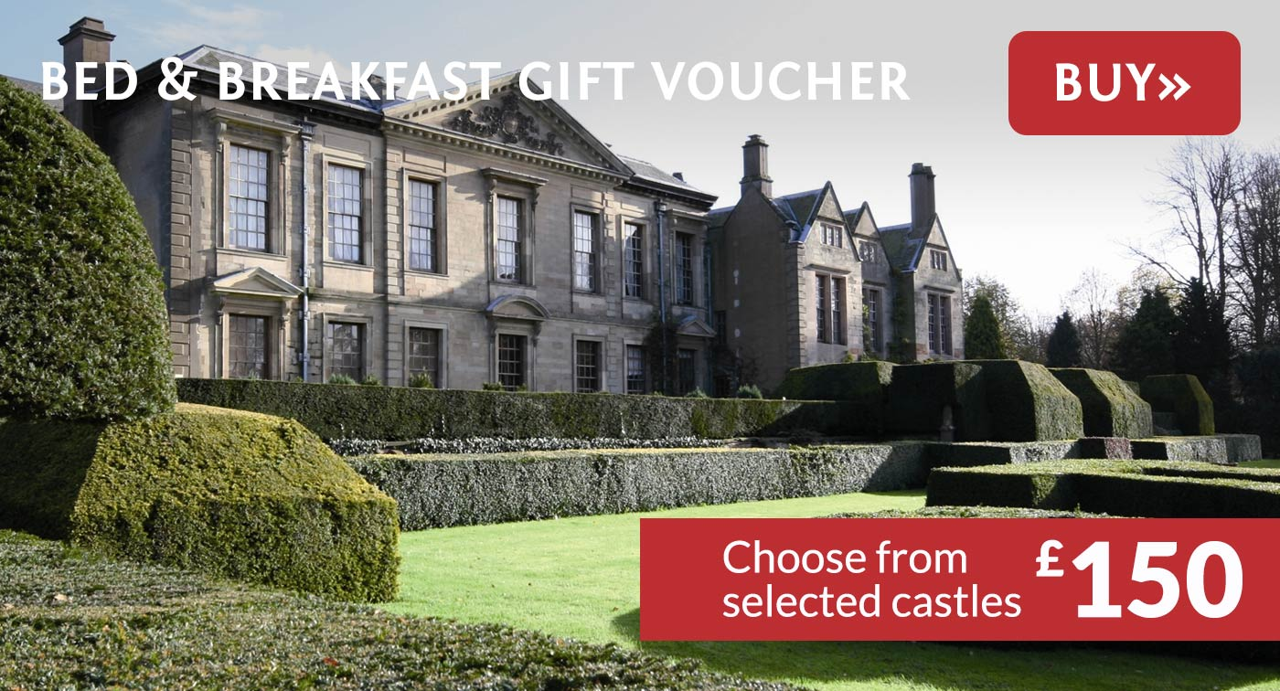 Castle Bed and Breakfast Gift Voucher